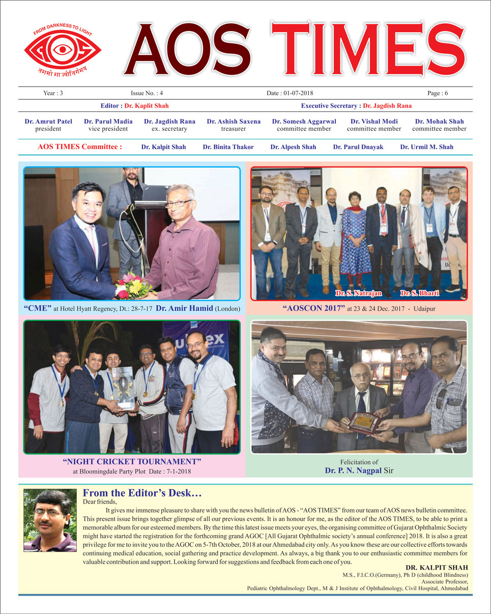 AOS Times Issue 4 - July 2018