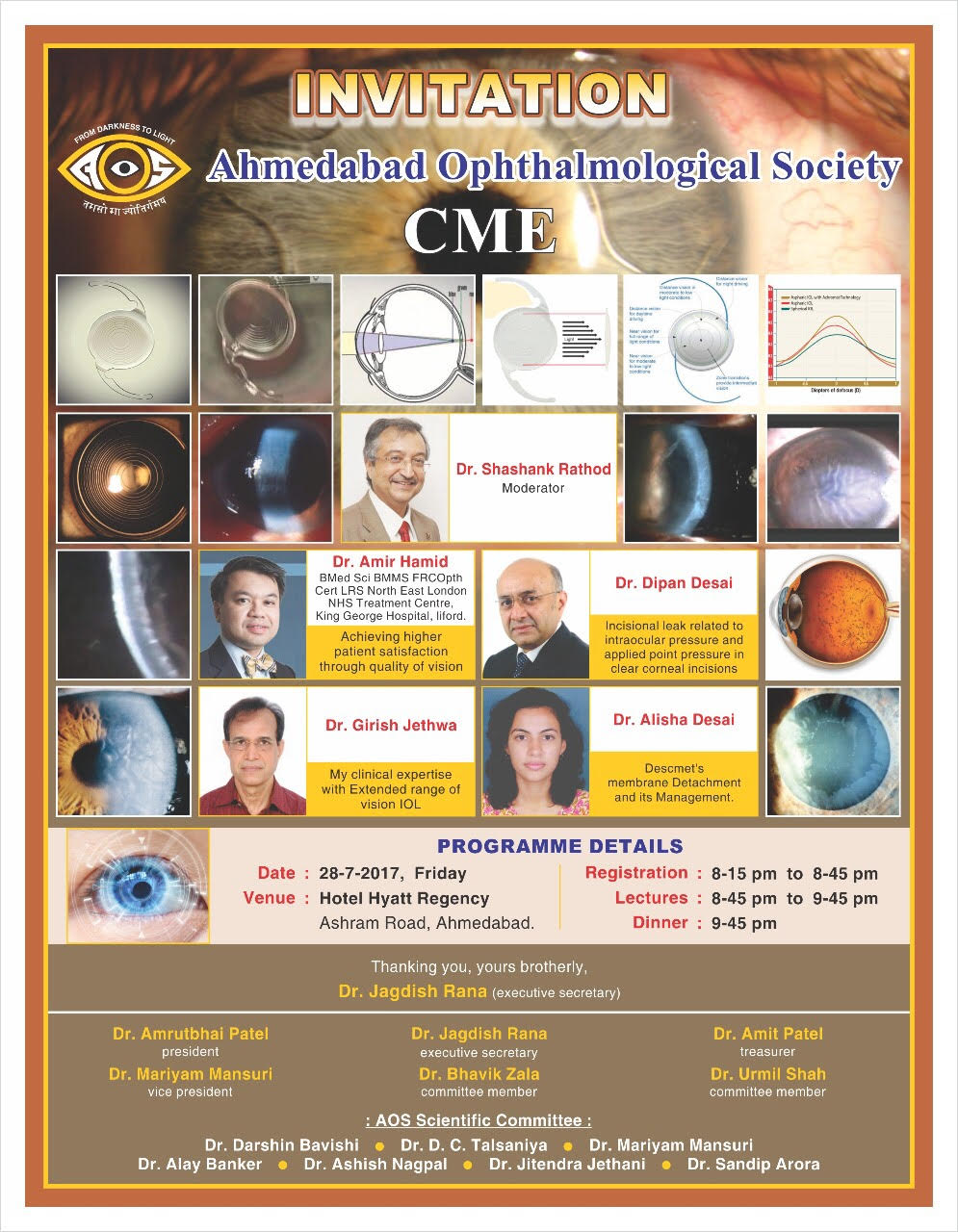 Ahmedabad Ophthalmological Society - CME