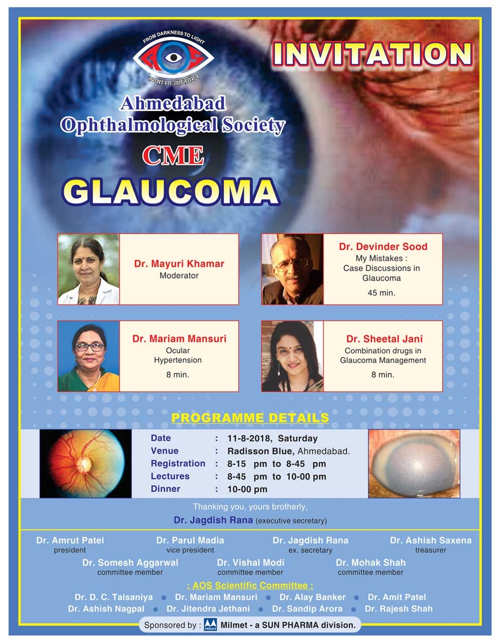 CME on Glaucoma - August 2018